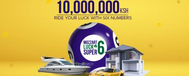 Mozzart super Lucky 6 Banner
