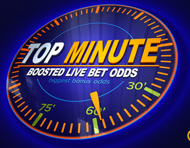 Boosted live bet odds at mozzart bet